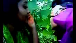 Bangladeshi lesbian girls kissing each other