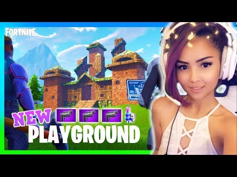 NEW Dual Pistols?! PLAYGROUND UPDATE | 1v1 Me Bro ;) | Live with Rebelle