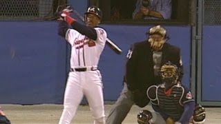 1995 WS Gm1: McGriff's solo home run ties game at 1