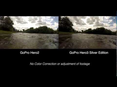 GoPro Hero2 vs Hero3 Silver Edition Real World Comparison - Hero 2 3