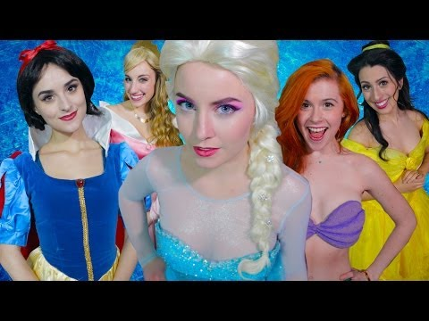 Frozen - A Musical Feat. Disney Princesses video
