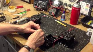 Build a Working Battery for your Zenith Trans-Oceanic Part II