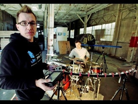 On Smash Live - Behind The Scenes - GoPro Array Drum Shoot