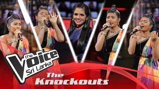 Anarkalie Wishwalekha | Kamli | The Knockouts | The Voice Sri Lanka