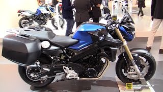 2015 BMW F800R - Walkaround - 2014 EICMA Milan Motorcycle Exhibition
