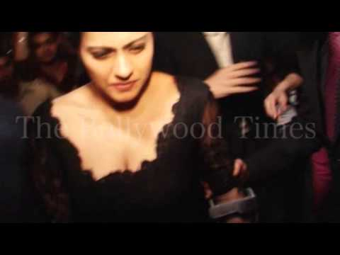 Kajol Hot Cleavage Exposed In Public video