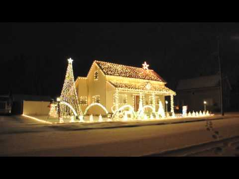 Amazing Grace - Yule - 2010 Lights For Riley Christmas Light Display Music Videos