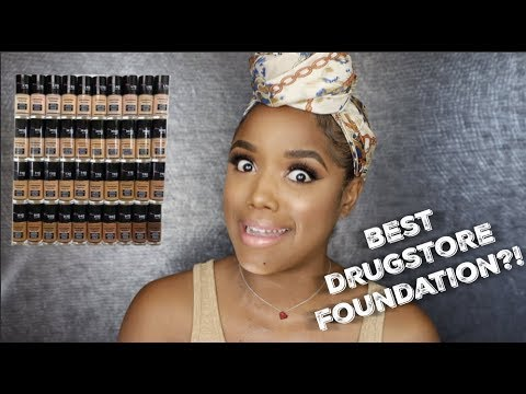 MY CURRENT FAVORITE DRUGSTORE FOUNDATION + TUTORIAL | Ellarie