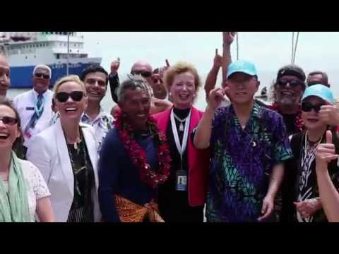 SIDS Samoa / Hokule'a Voyage