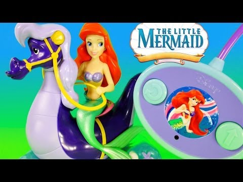 The Little Mermaid Ariel & Stormy Radio Control Car Princess Toys Review - Disney Cars Toy Club