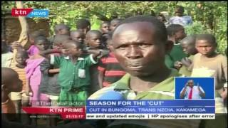 SEASON FOR THE CUT: Bukusu boys go through traditional ritual to become men