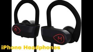 The MX10 Bluetooth iPhone Headphones - EarBuds Wireless Headphones  - Earbuds