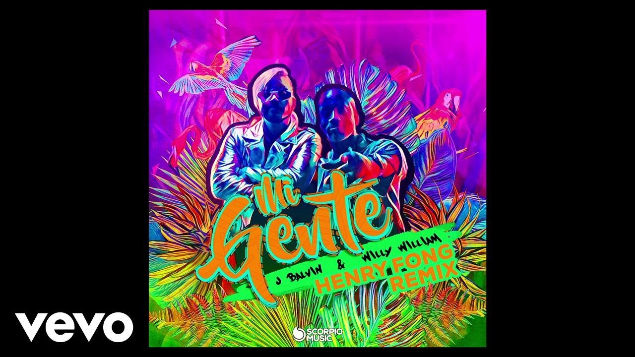 J Balvin, Willy William - Mi Gente (Henry Fong Remix/ Audio)