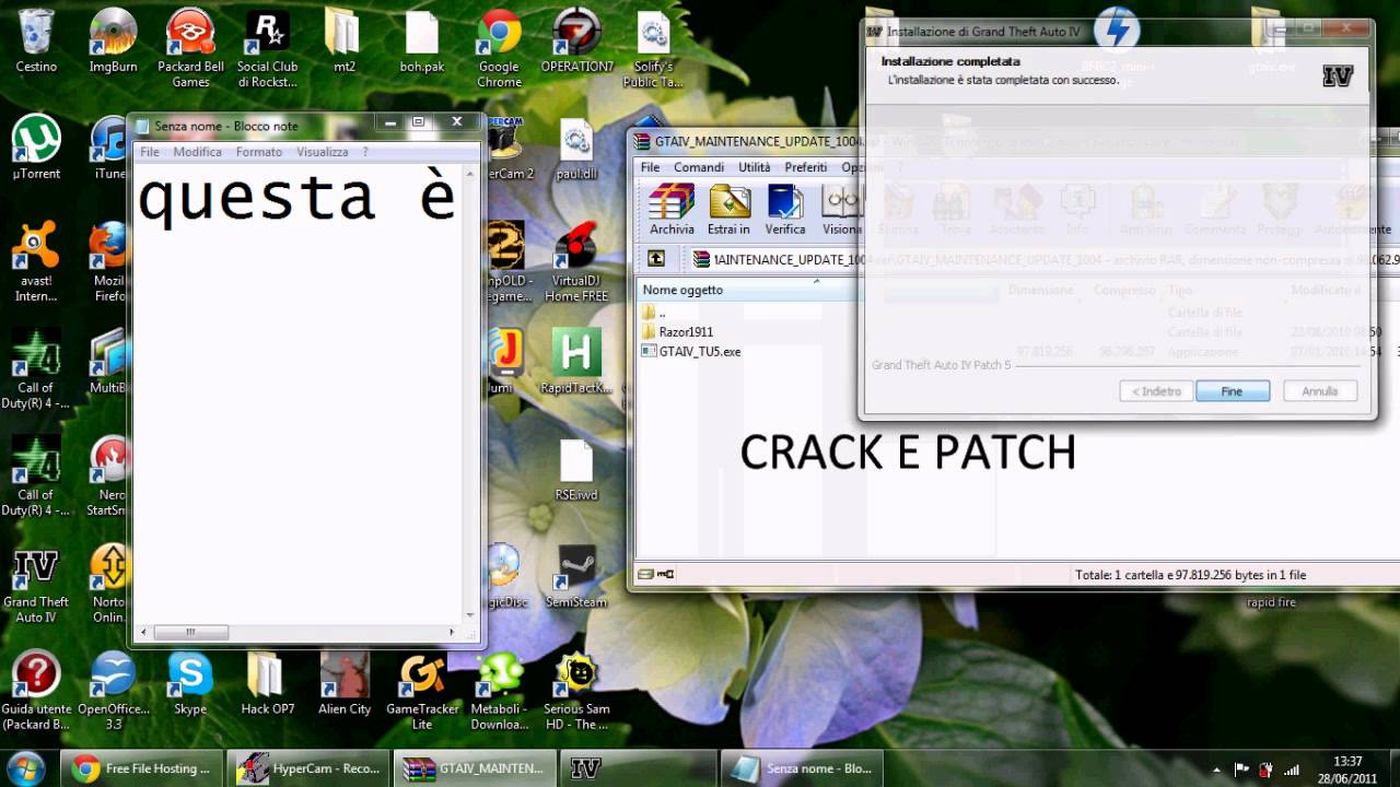 GTA IV PATCH 1.0.4.0 E CRACK DOWNLOAD FirexXxDragon. trouble in high heels