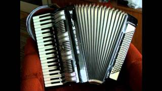 Karibiska Nätter (Caribean Nights)  /Dragspel-Accordion/