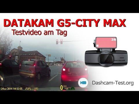 Fahrt am Tag ★ DATAKAM G5-CITY MAX