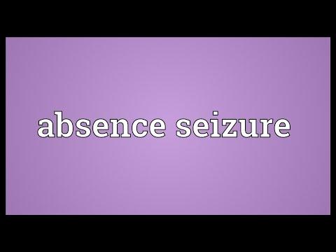 Header of Absence Seizure