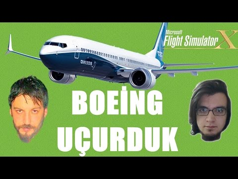 Flight Simulator X Türkçe Steam Edition Multiplayer | Havada Dehşet Dakikalar | Bölüm 9