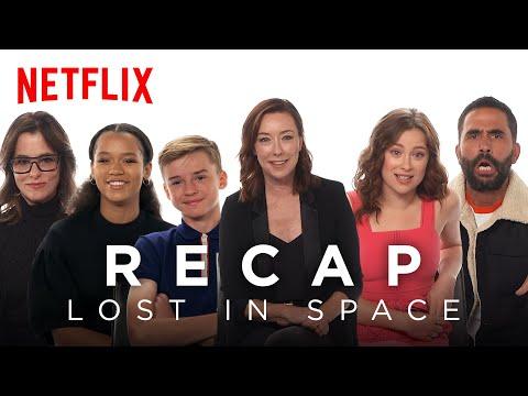 Download  The Lost in Space Cast Recaps Season 1   Netflix Gratis, download lagu terbaru