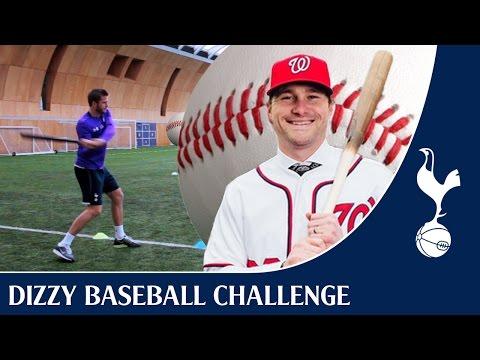 Dizzy Baseball Challenge FT Eric Dier + Daniel Murphy