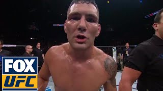 Chris Weidman to Michael Bisping: That British bum...stop hiding from the real men | UFC FIGHT NIGHT