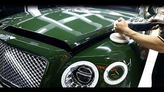 Rửa và đánh bóng Siêu xe Bentley Bentayga SUV đắt nhất hành tinh