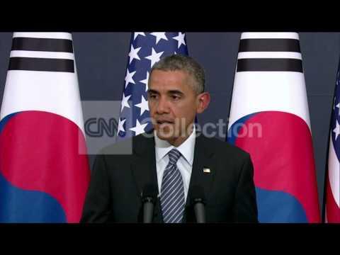 SOUTH KOREA: OBAMA - PARK BILAT  NORTH KOREA