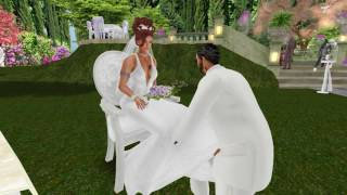 Big D & Fire Second Life Wedding - 8.21.16