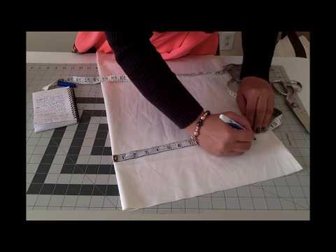 Leopard Print Skater Dress DIY: Measuring & Cutting: Elastic (Method 4 Winter)Part #1