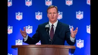 Roger Goodell Must Divorce His Wife & Marry Fattest Jigaboo Hottentot In America For SJ