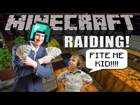 Minecraft Raiding: RICHEST FACTION BASE EVER! MUST SEE!