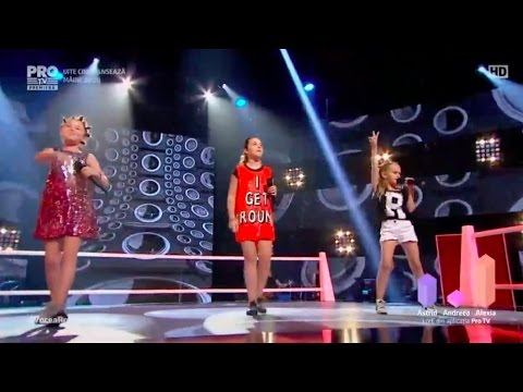 Vocea Romaniei Junior 2017 - Astrid vs Andreea vs Alexia (NO)