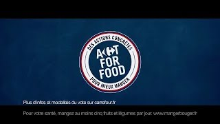 Pub Carrefour programme Act For Food - Pub Carrefour Septembre 2018
