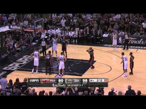 Tim Duncan 14 Pts ,8Reb ,2 Blk | Full Highlight vs Heat Game 5