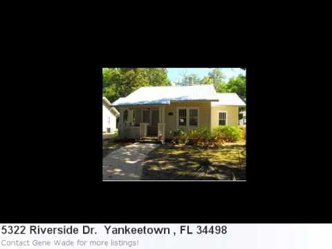 5322 Riverside Dr. Yankeetown , Fl Is A Charming 2 Bedroom,