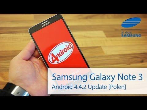 Samsung Galaxy Note 3 Android 4.4.2 KitKat Update im Überblick