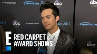 """Laine Hardy Reacts to Winning """"American Idol""""   E! Red Carpet & Award Shows"""