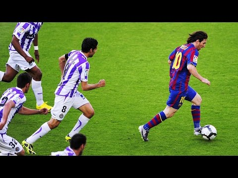 Lionel Messi ● 10 Greatest Solo Runs Ever  ► Box to Box / Midfield to Box ||HD||