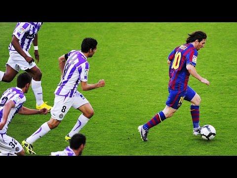 Lionel Messi ● 10 Greatest Solo Runs Ever  ► Box To Box / Midfield To Box ||HD||