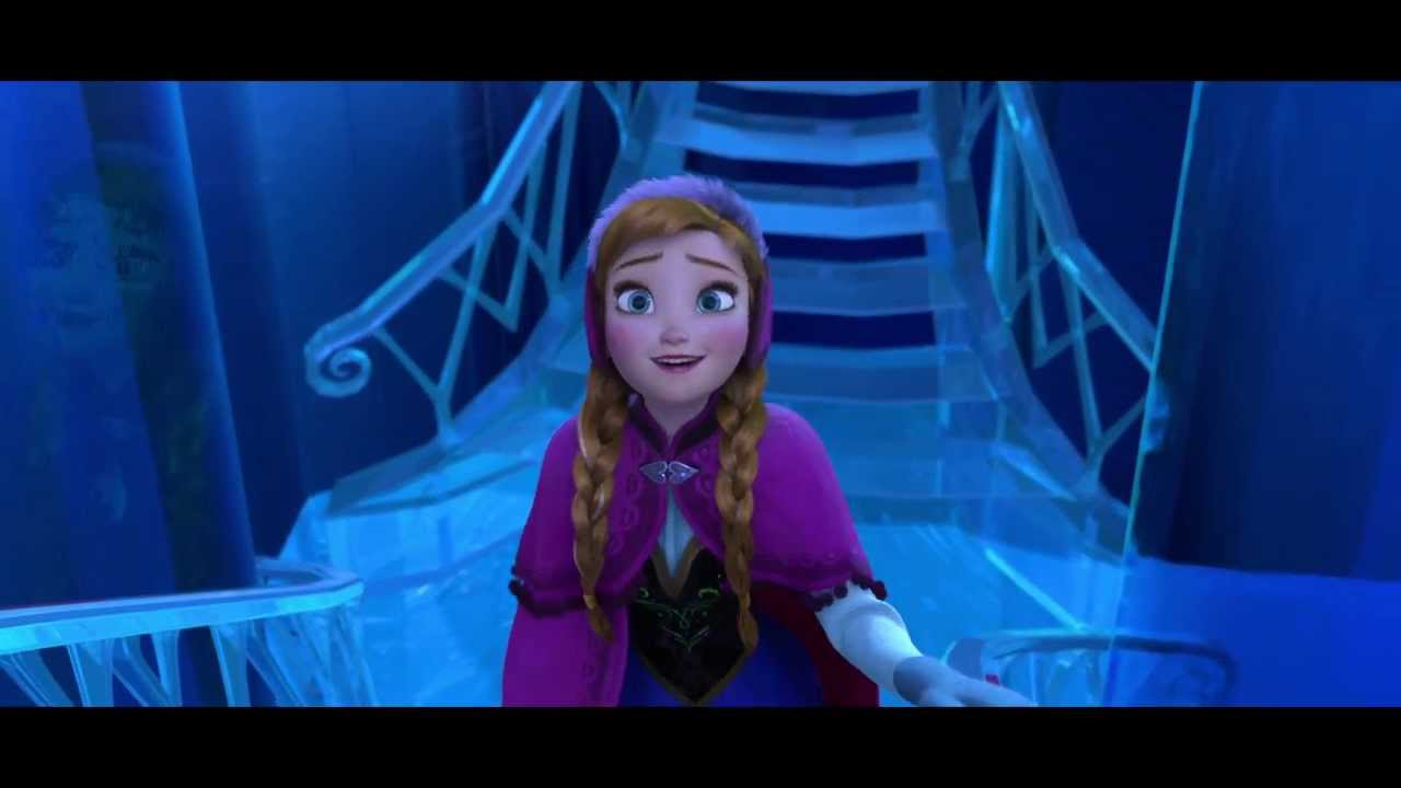 Disney s frozen quot elsa s palace quot extended scene youtube