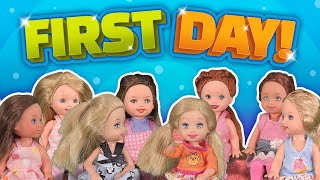 Barbie - First Day Back at Preschool | Ep.174