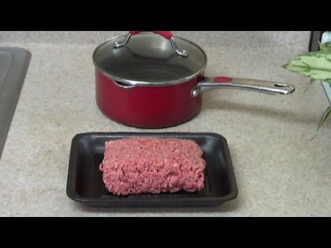 Mince Beef – How to take the fat out of ground beef (ENG)- PekisKitchen