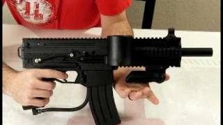 Milsig Flip Down PDW Vertical Foregrip Paintball Accessory Review by HustlePaintball.com