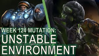 Starcraft II Co-Op Mutation #124: Unstable Environment [Level 1 Tychus]