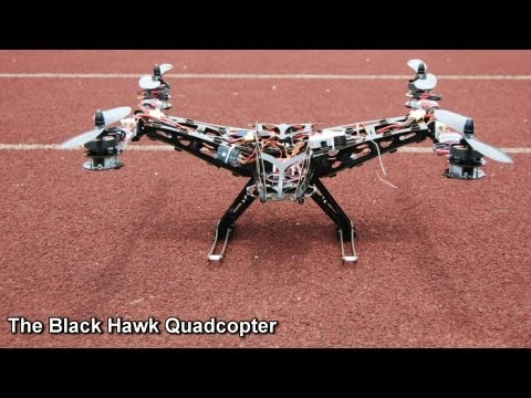 BlackHawk Quadcopter Revealed