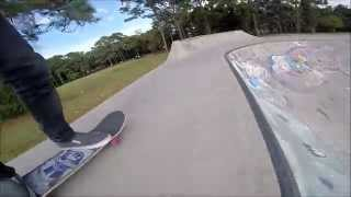 Go Pro Hero 4 tour of Monument skatepark in Florida
