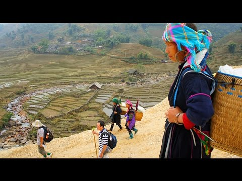 Travel - 2010 Uncut trekking Video to Black Hmong Sapa Village. edited in HD p3/6 (HD)