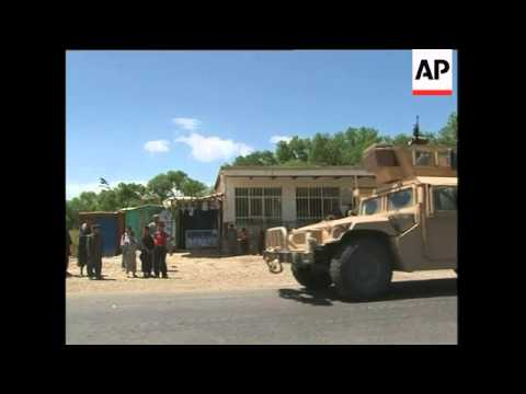 Three NATO troops, three Afghan civilians killed in blast