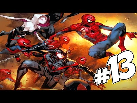 The Amazing Spider-Man Issue #13 (Spider-Verse - Part 5) Full Comic Review. Giveaway & WINNER!