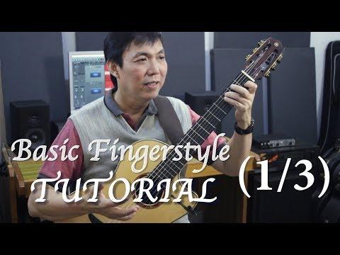 Basic Fingerstyle Tutorial (1/3) - Jubing Kristianto